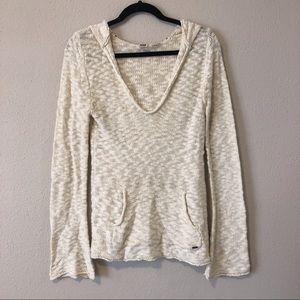 ROXY Hooded Scoop Neck Sweater